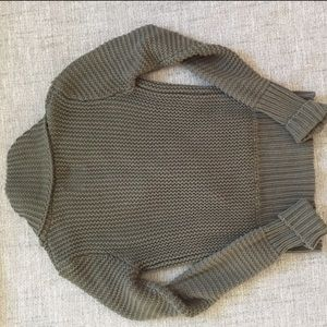 American Eagle Outfitters Sweaters - American Eagle Army Green Sweater